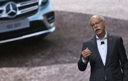 Daimler-Chef Dieter Zetsche auf der Automesse Auto China 2016 in Peking. Foto: How Hwee Young
