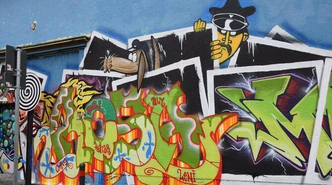 Künstler Reutlingen graffiti sprayer nach hinweis festgenommen reutlingen reutlinger