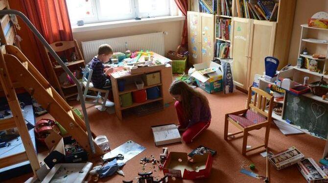 Kind will Zimmer nicht aufräumen: Polizei rückt an ...