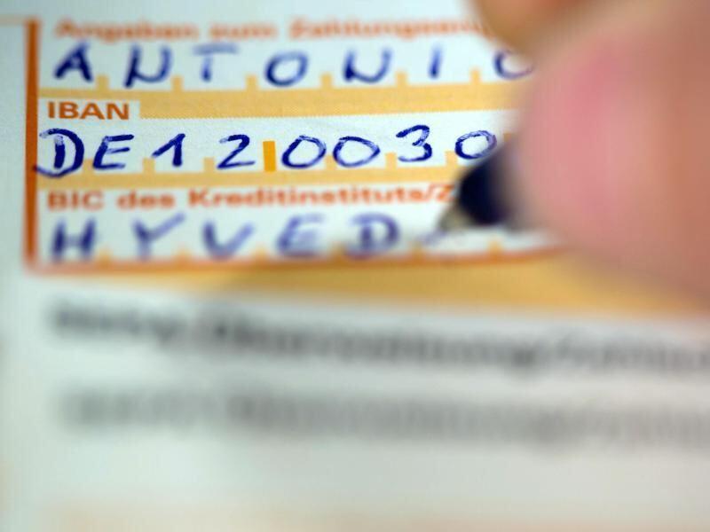 Verbraucher beschweren sich über Probleme mit Kontonummer IBAN ...