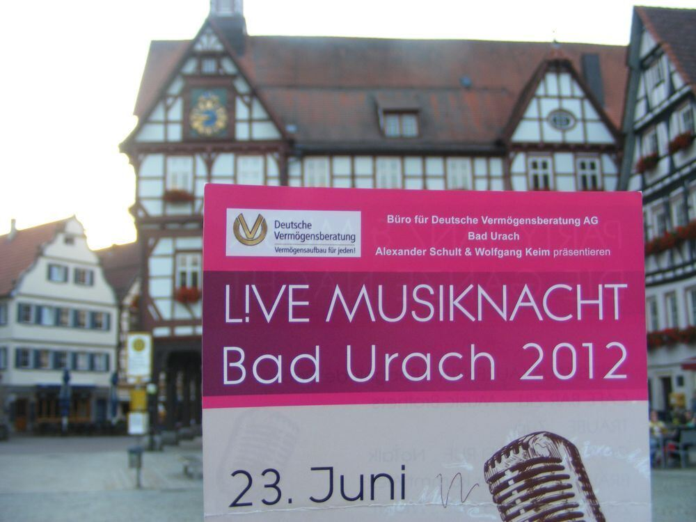 Musikfest in Bad Urach Juni 2012