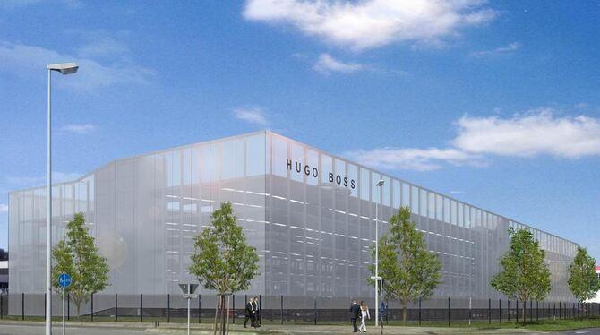 100% high quality great quality ever popular Parkhaus für Mitarbeiter und Gäste der Hugo Boss AG - Neckar ...