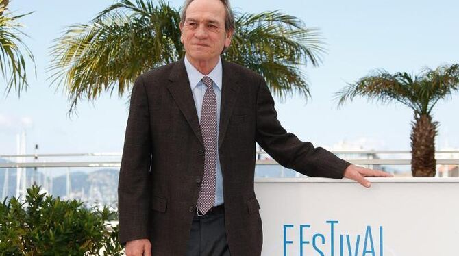 Tommy Lee Jones zeigte in Cannes »The Homesman«. Foto: Julien Warnand