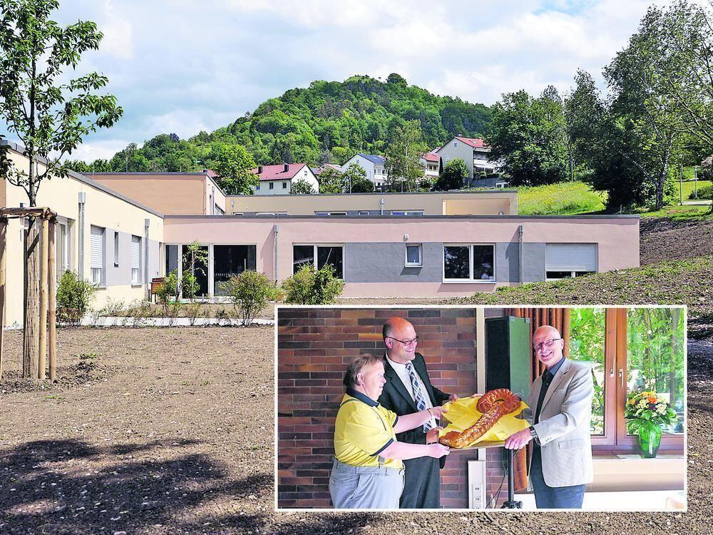 Barrierefrei mit Flachdach neues Haus für Behinderte