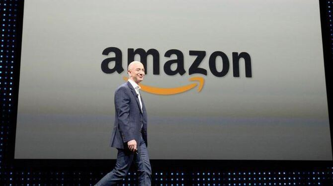 Amazon-Chef Jeff Bezos. Foto: Michael Nelson/Archiv