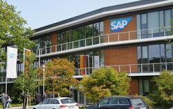 Das SAP Innovation Center in Potsdam. Foto: Bernd Settnik/Symbol