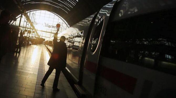 Aktueller Bahnstreik