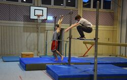 Parkours-Training Nehren