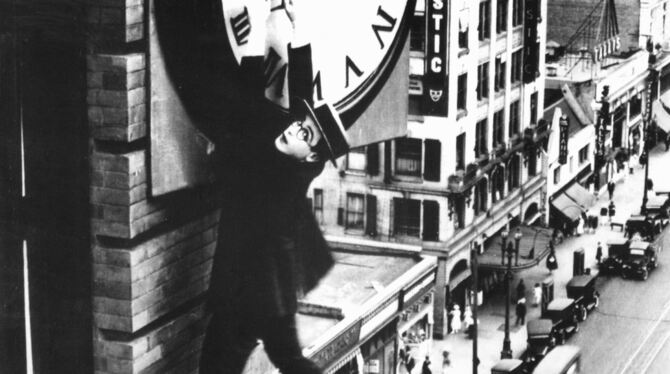 Harold Lloyd im Film »Safety Last«