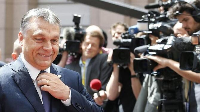 Orban in Brüssel