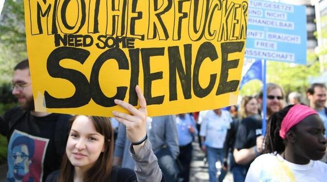 »March for Science«