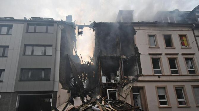 Explosion in Wuppertal
