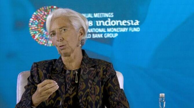 IWF-Chefin Lagarde in Indonesien