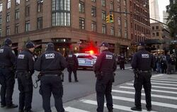 Polizisten in New York