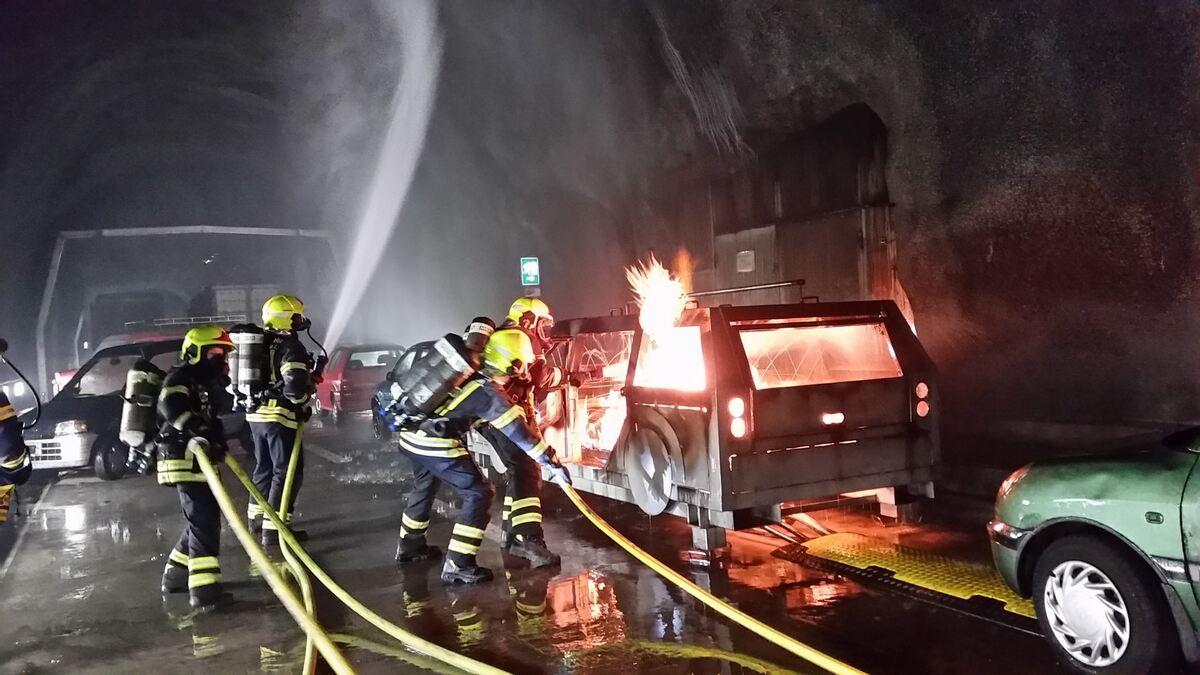 Feuer Im Tunnel