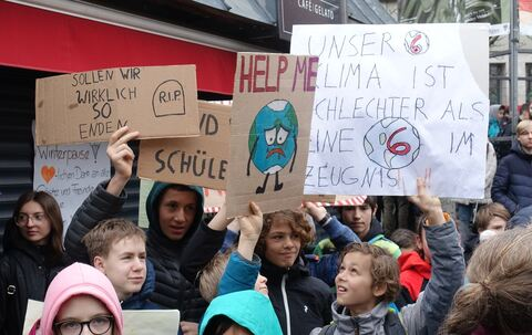 Fridays for Future: Klimademo in Reutlingen