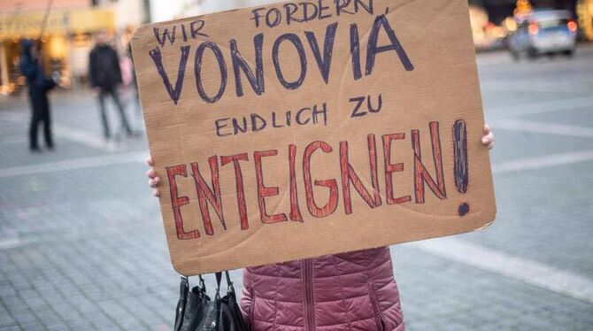 Demonstration gegen Vonovia