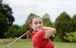 Golf-Talent Alina-Sophie Koch (Handicap 1,3) wird in Kentucky studieren. Foto: Pieth