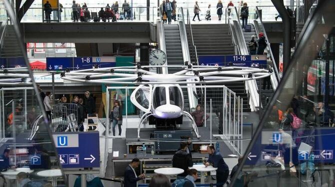 Air taxi »Volocopter«