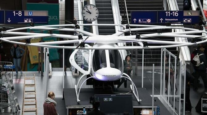 Flugtaxi Volocopter