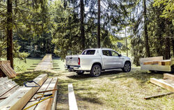 Die Mercedes-Benz X-Klasse: Pick-up, der in Kooperation mit Nissan/Renault entstand. Fotos: pr