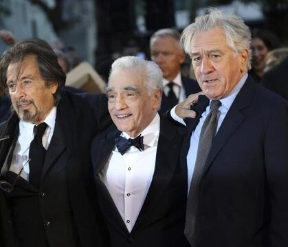 "Premiere ""The Irishman"""
