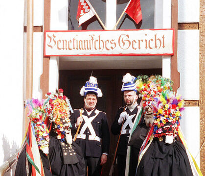 Das Narrengericht in Grosselfingen. ARCHIVBILD: MEYER