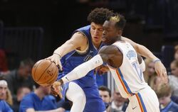 Oklahoma City Thunder - Dallas Mavericks