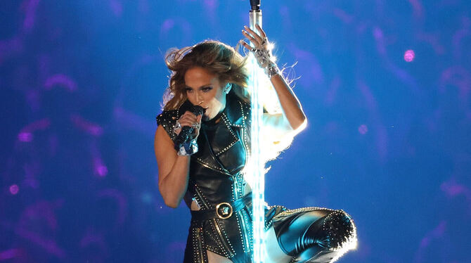 Action in Miami: Jennifer Lopez.