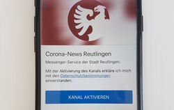 Der Info-Service Corona-News Reutlingen in der Notify-App