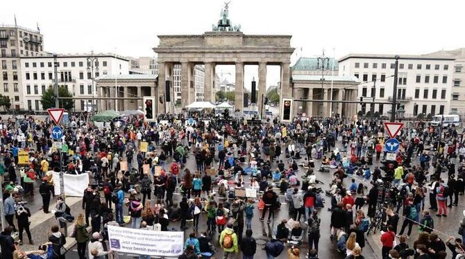 Klimaprotest Fridays for Future - Berlin