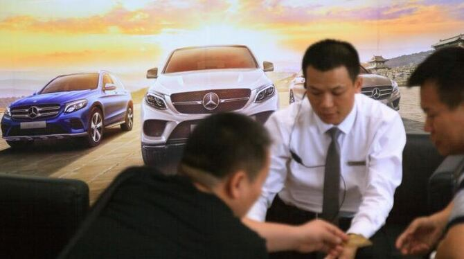Mercedes-Benz - Autohaus in China
