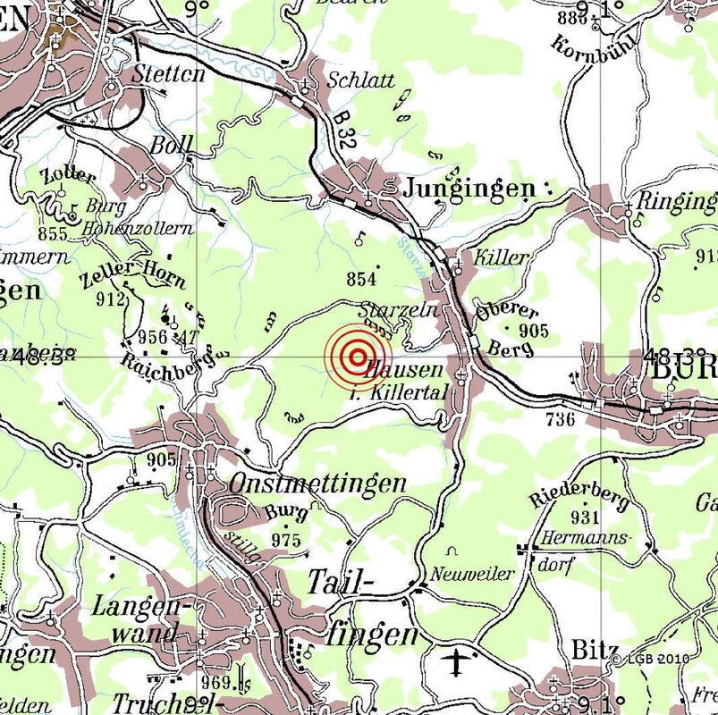 Erneutes Erdbeben Am Albtrauf Bei Hechingen Reutlingen Reutlinger General Anzeiger Gea De