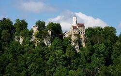 Touristenmaget in der Region: Schloss Lichtenstein. FOTO: PR